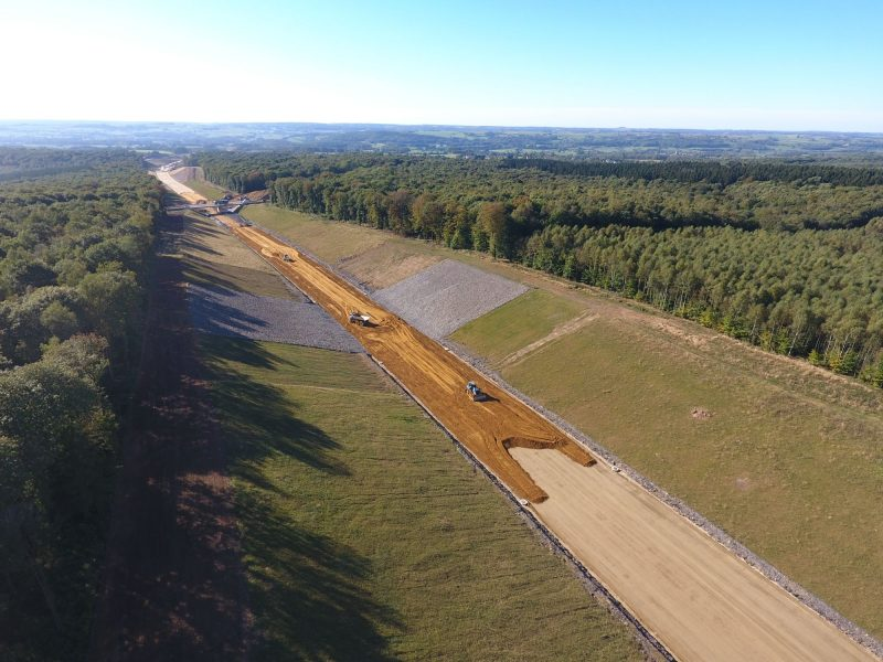 Construction de l'autoroute A304